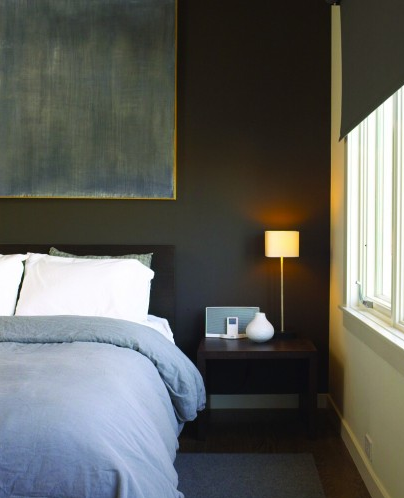 Creative juice october 2011 - Black painted bedroom walls ...