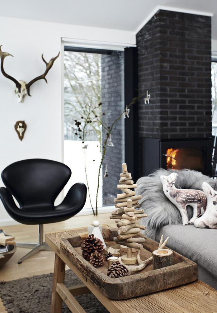 Decoracion navideña  diferente y bonita hogar estilo rustico