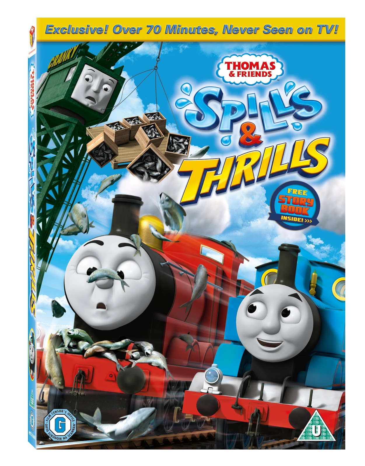 Thomas & Friends: Spills & Thrills DVD
