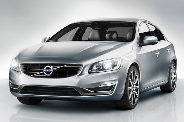 New 2015 Volvo type S60  front eagle view
