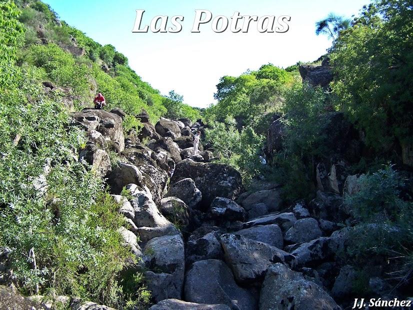 Paraje Natural y cuevas graníticas de Las Potras. Espacios Naturales Protegidos de Montehermoso