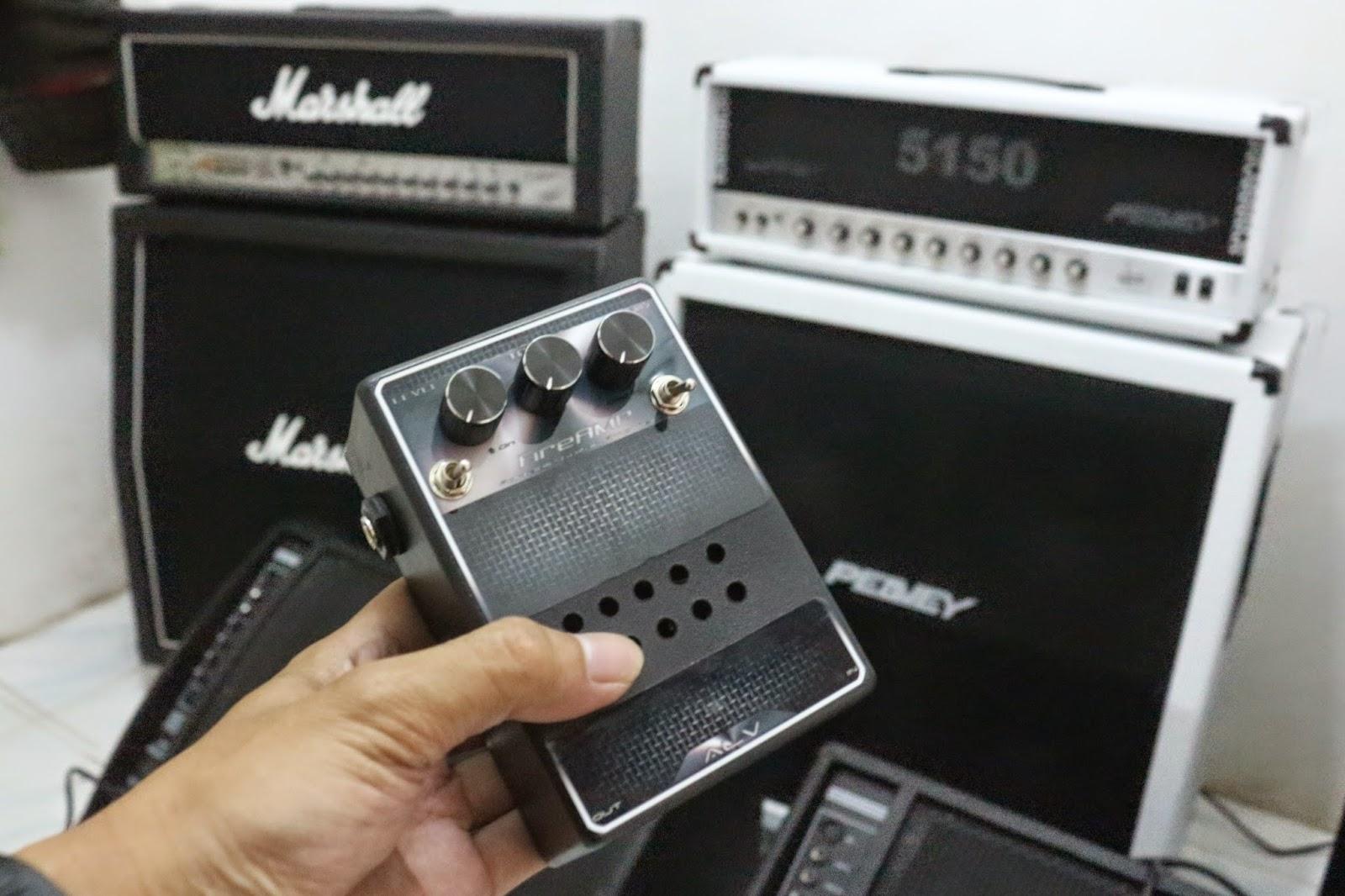 Ampli Gitar Mini Portabel Murah ALV FireAMP Hanya