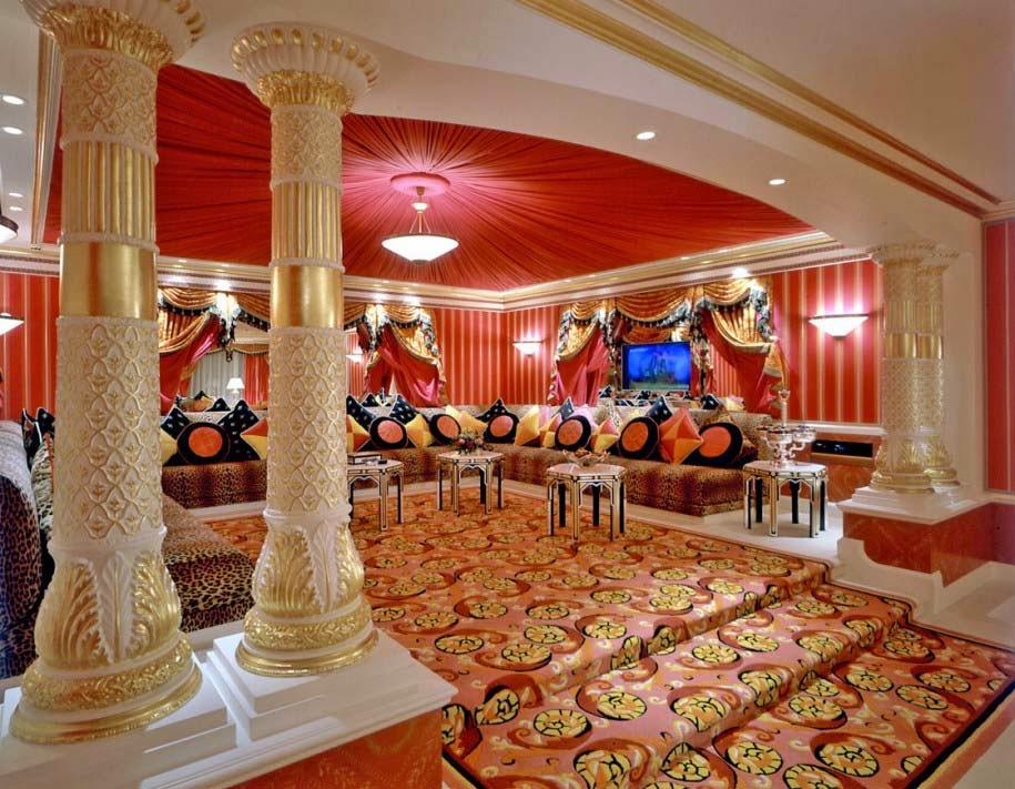 warna cat interior rumah klasik yang bagus