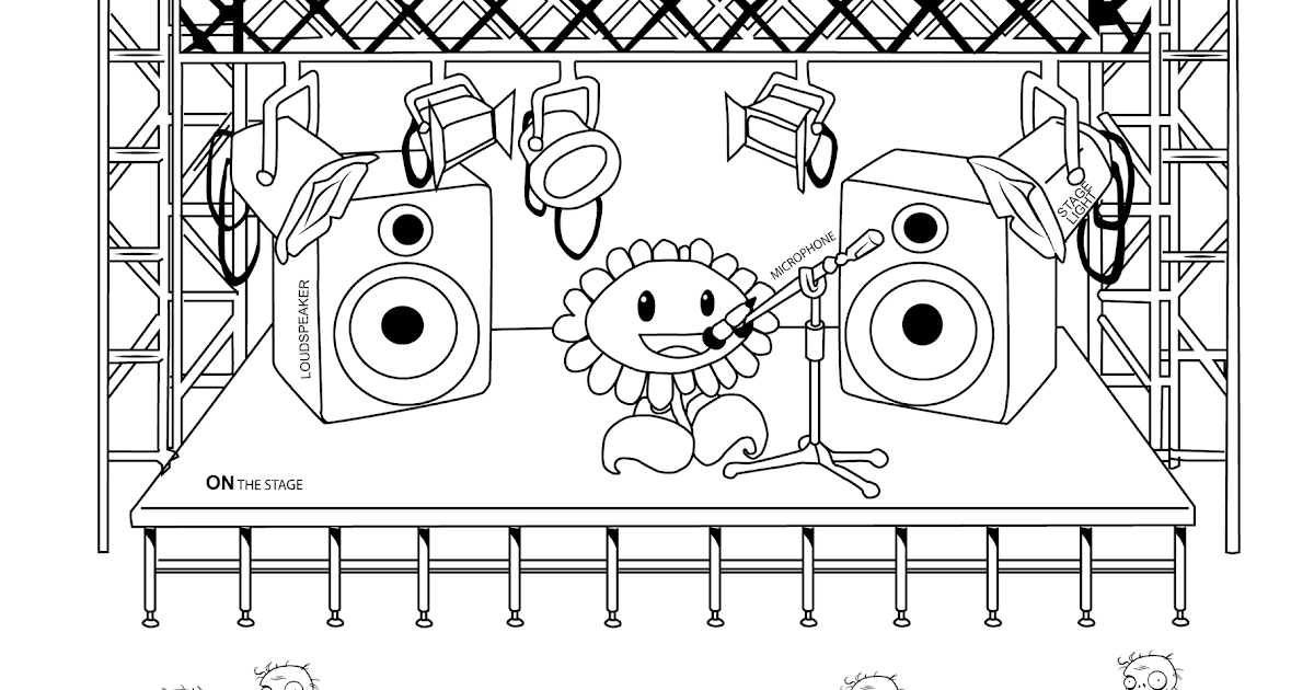 Coloring Pages Of Plants Vs Zombies - Best Coloring Pages
