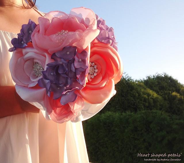 Bridal bouquet lilacs