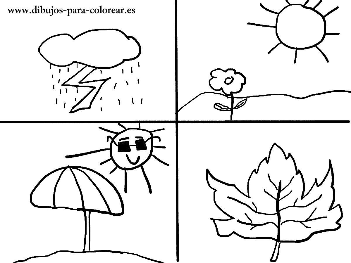 Dibujos para colorear.