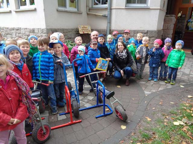 Nun herrscht wieder Ordnung in der Kindervilla Bad Frankenhausen