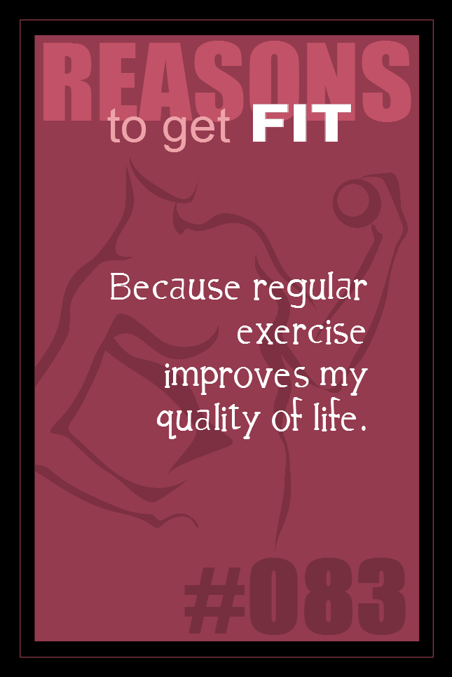 365 Reasons to Get Fit #083