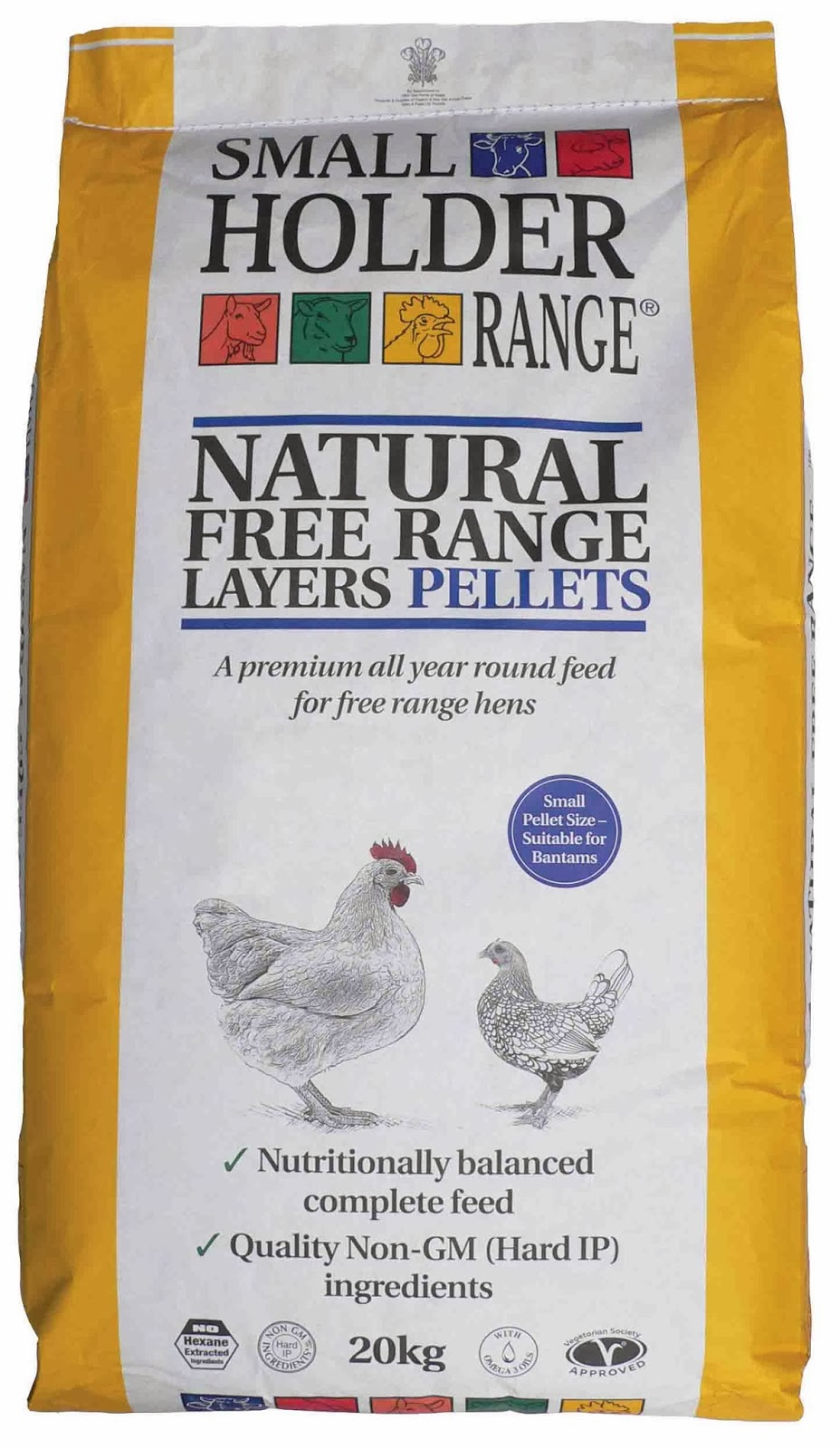 Free Range Layer Pellets for Poultry