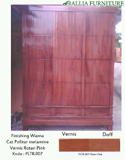 contoh furniture politur melamine 1 allia furniture