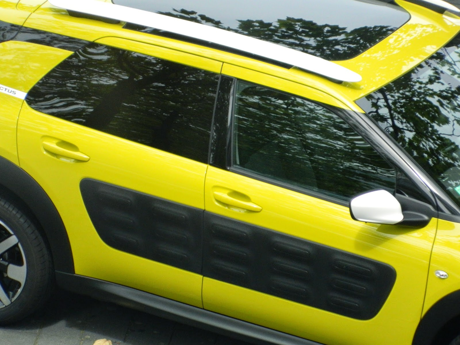 Citroen C4 Cactus from above