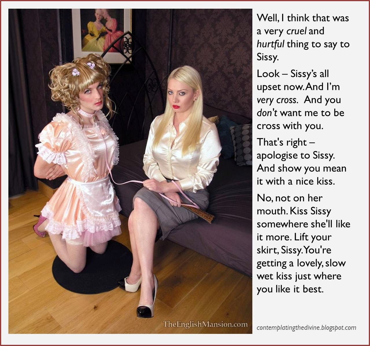 Mistress and sissy