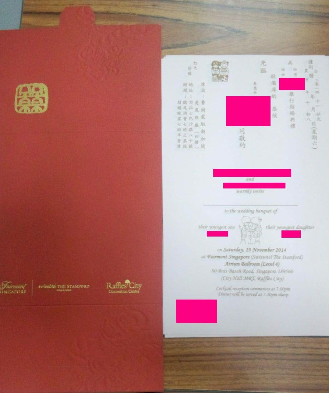 bouncing around in everyday life: Collection of wedding invitation cards