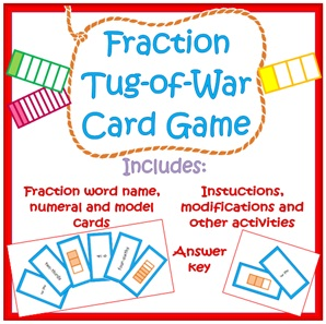 Fraction War Card game