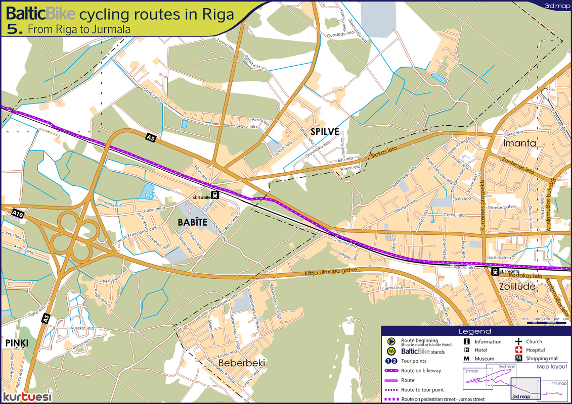 Riga Jurmala bicycle trip Travel with LP
