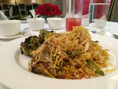 Dum Biryani at Sahib Room Mumbai