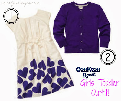 Girls Toddler Dress Outfit from #OshKoshBgosh