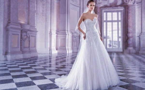 Romantic Wedding Dresses by Demetrios Couture 9