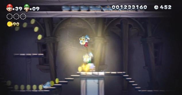 Super Mario Bros Ghost House in New Super Mario Bros u