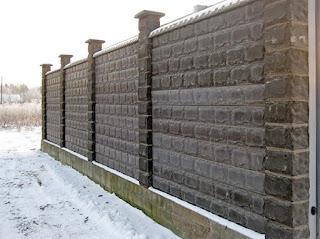 Каменный забор. Фото 34