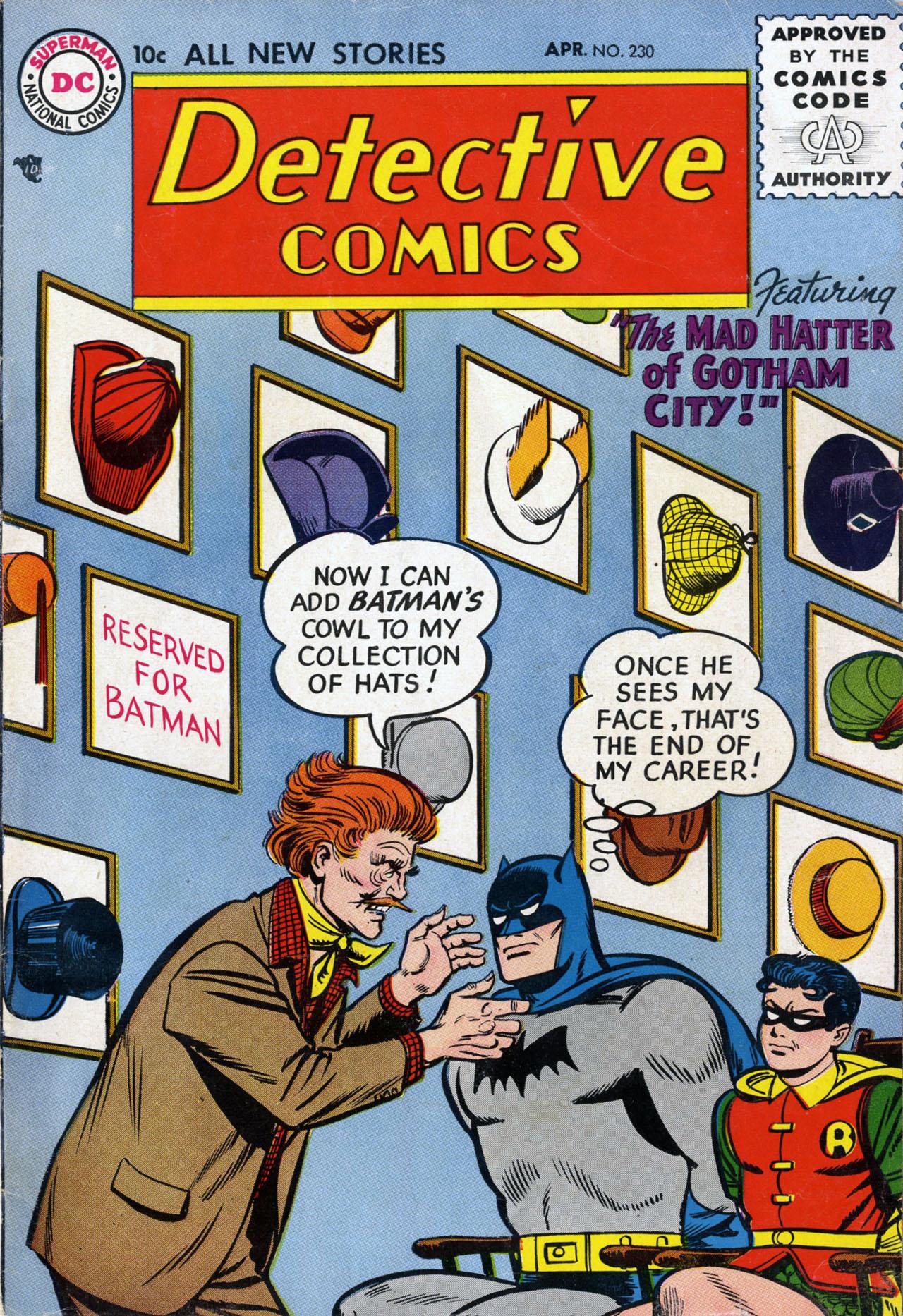 Detective Comics (1937) 230 Page 1