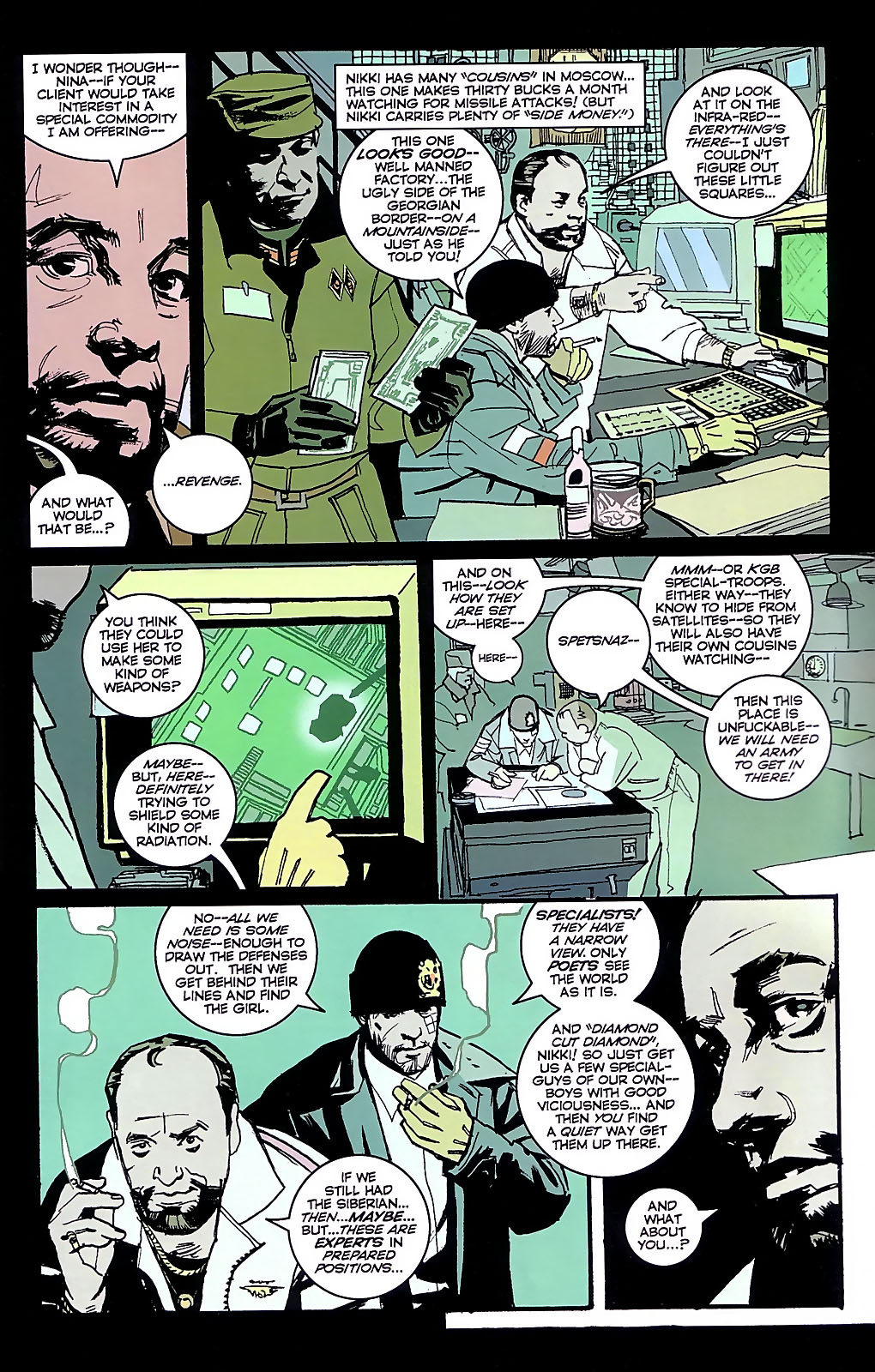Read online The Winter Men comic -  Issue #3 - 8