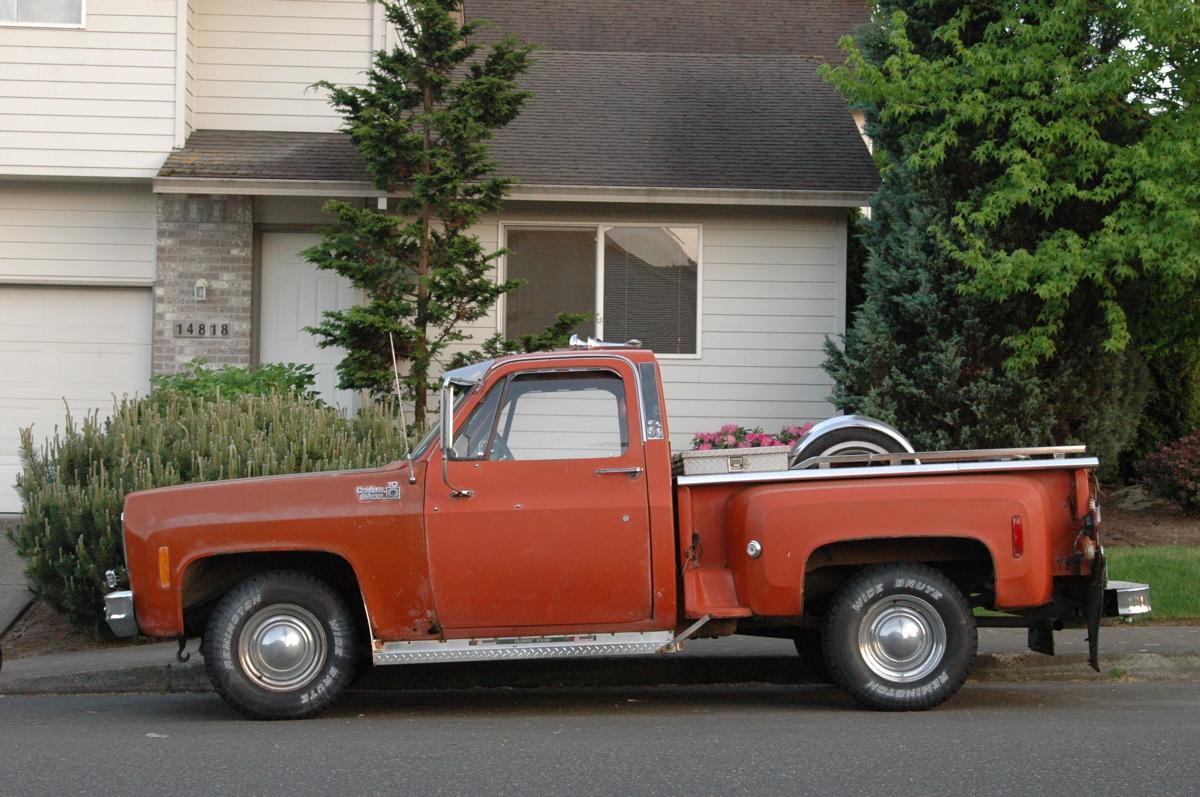 1977 chevy truck c10 stepside