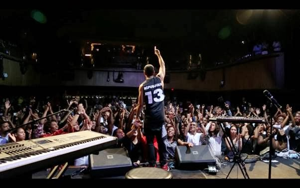 Grammy Nominee Ryan Leslie gives back to African Youth