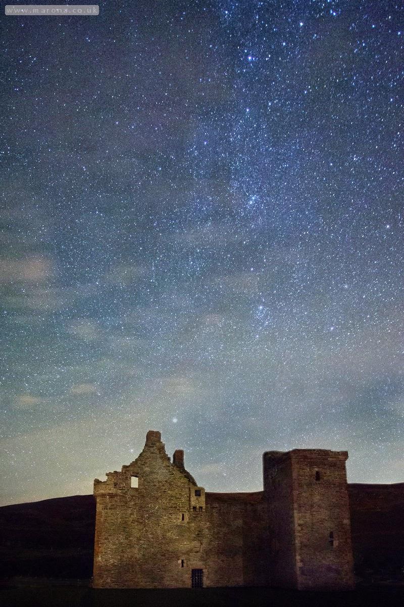 Lochranza starry sky