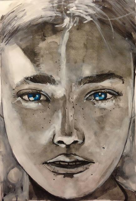 izak one graffiti watercolor for sale street art estonia chile antofagasta