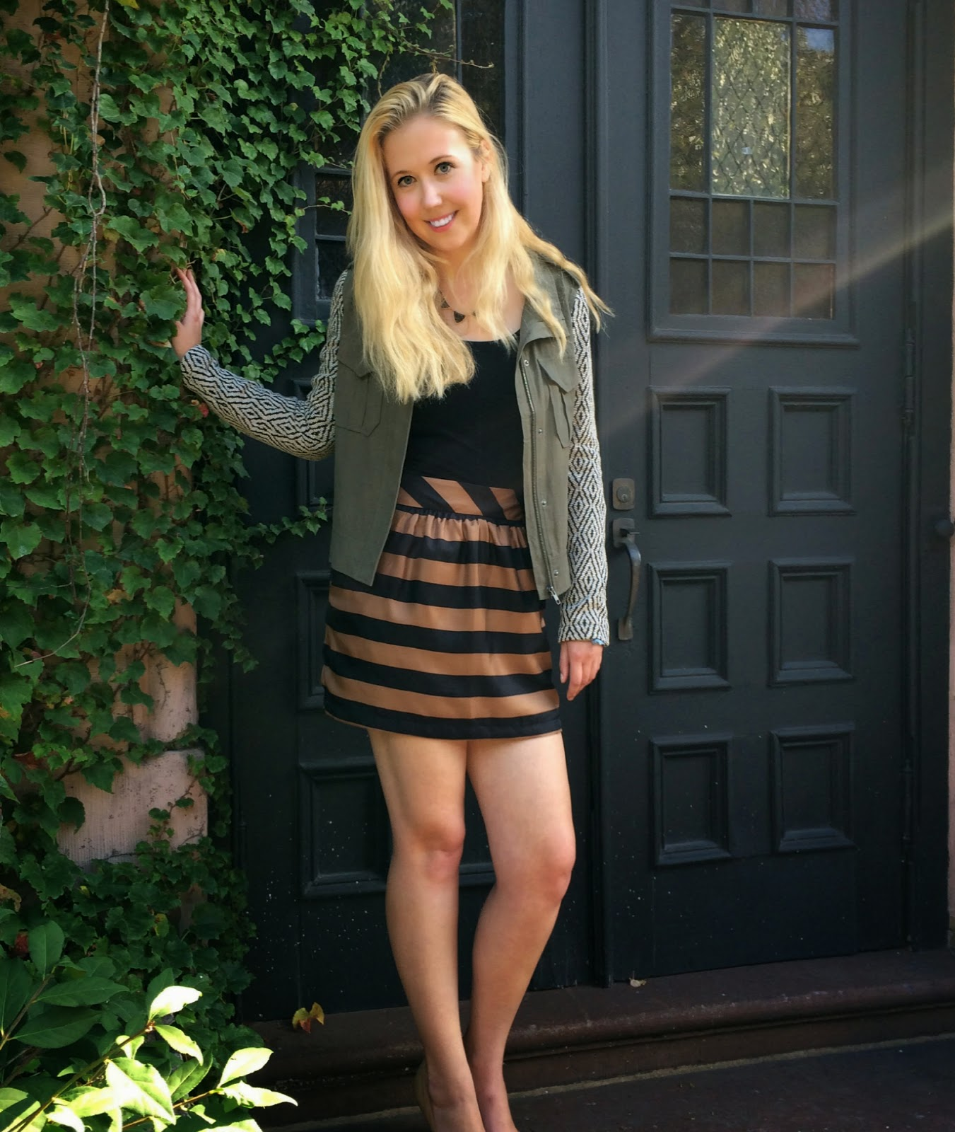 Amanda Uprichard Brighton Skirt, Ella Moss Minka Jacket, Boston Fashion, Boston Fashion Blog, Boston Fashion Blogger, Crush Boutique, Crush Boston, Newbury St, Boston Shopping, Boston Boutiques, Outfits, Fall 2014 Outfits, Fall Fashion, How to Mix Prints, Fall Fashion 2014