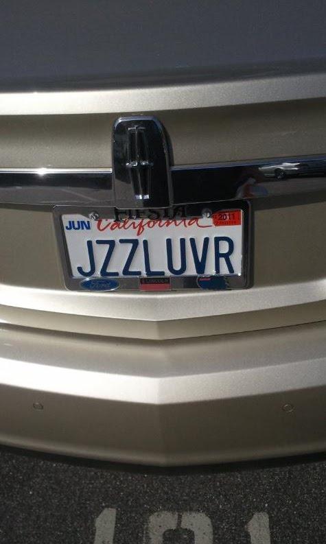 funny vanity plate