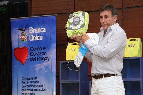 Campaña Branca Único como el corazón del Rugby