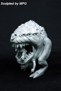 Unofficial Goblin Squig Mangler model