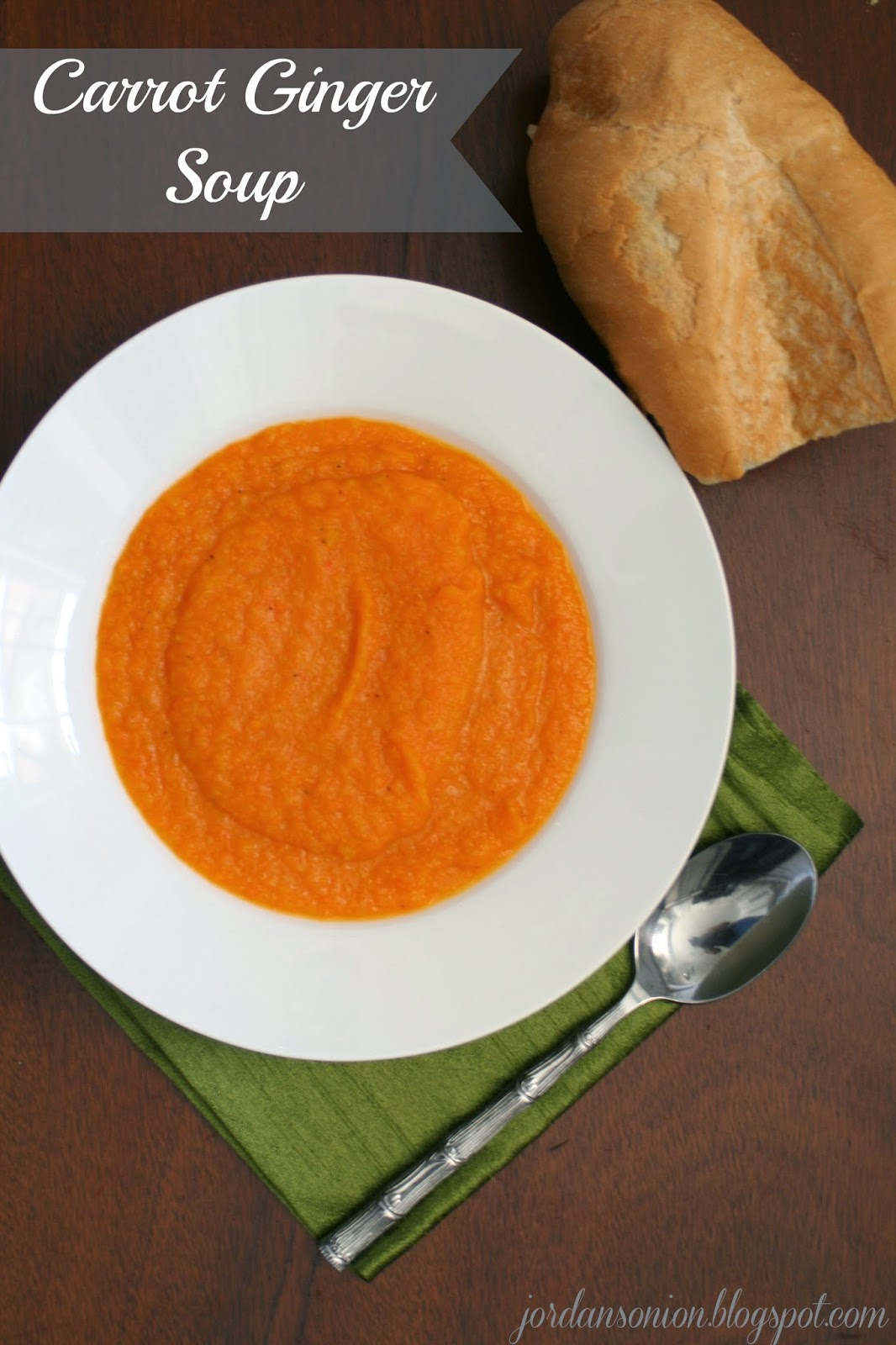 how to make carrot soup with ginger