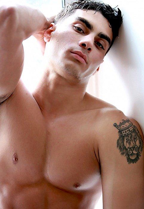 Labels arm tattoo