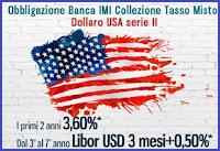 obbligazioni banca imi a tasso misto in dollari usa