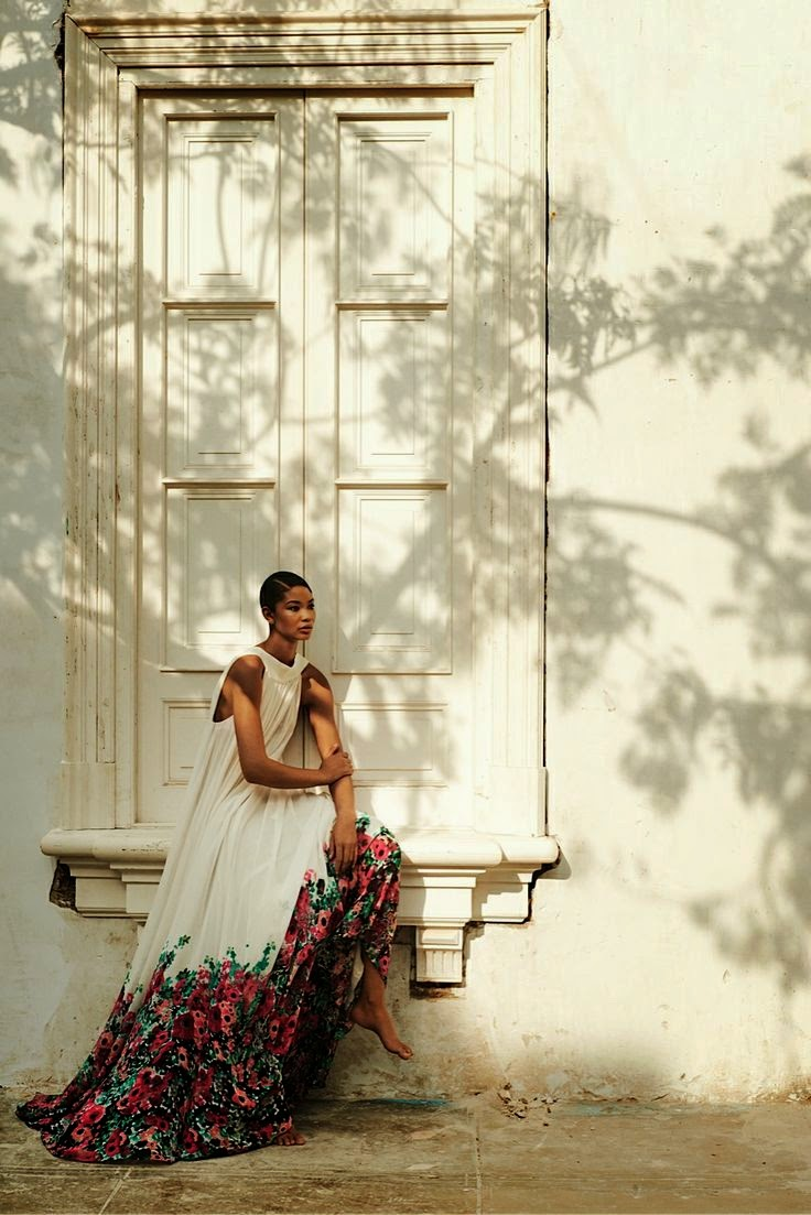 Chanel Iman By Alexander Neumann