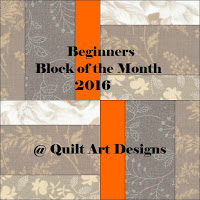 Quilt Art Designs Beginner Block of Month