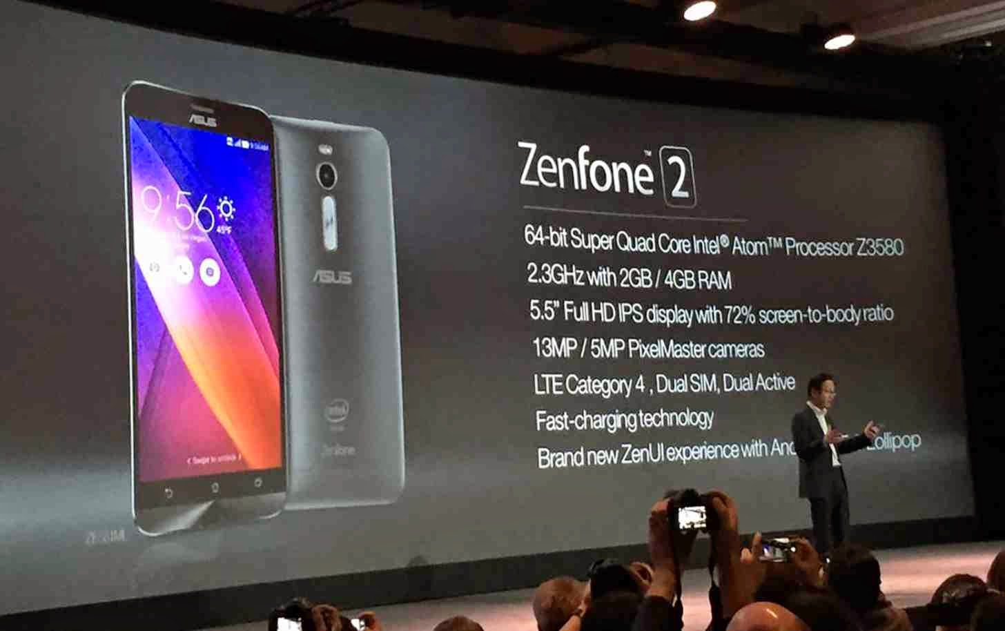 ASUS Zenfone 2 Specifications Philippines
