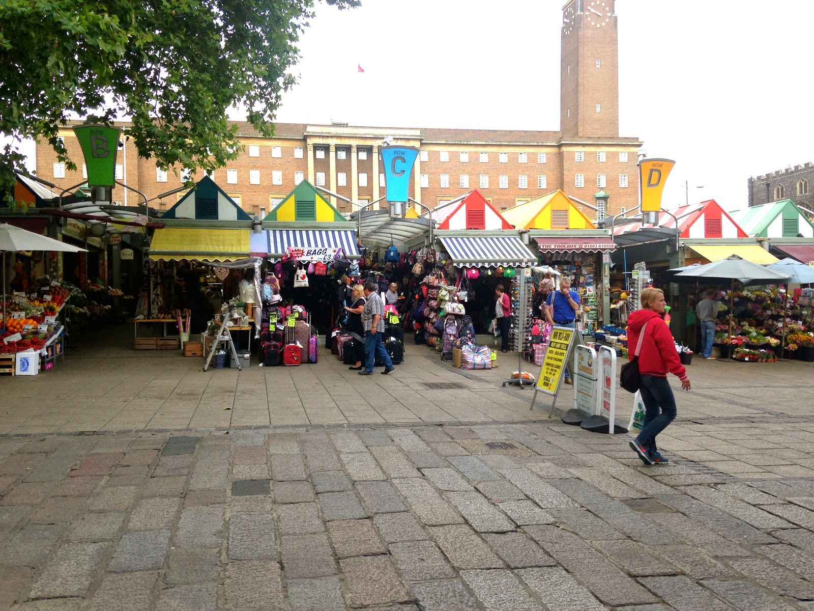 a picture of Norwich Market