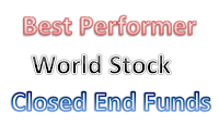 Top Performer World Stock CEFs August 2013