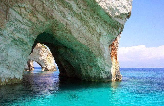 Blue Caves, Zakynthos Island (Grecia)