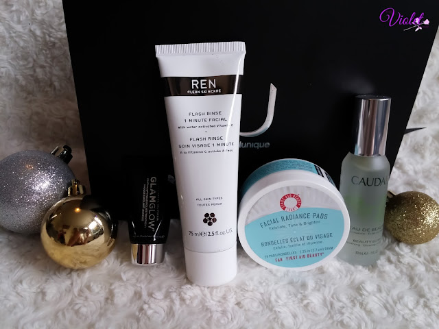 feel unique radiant skin box review