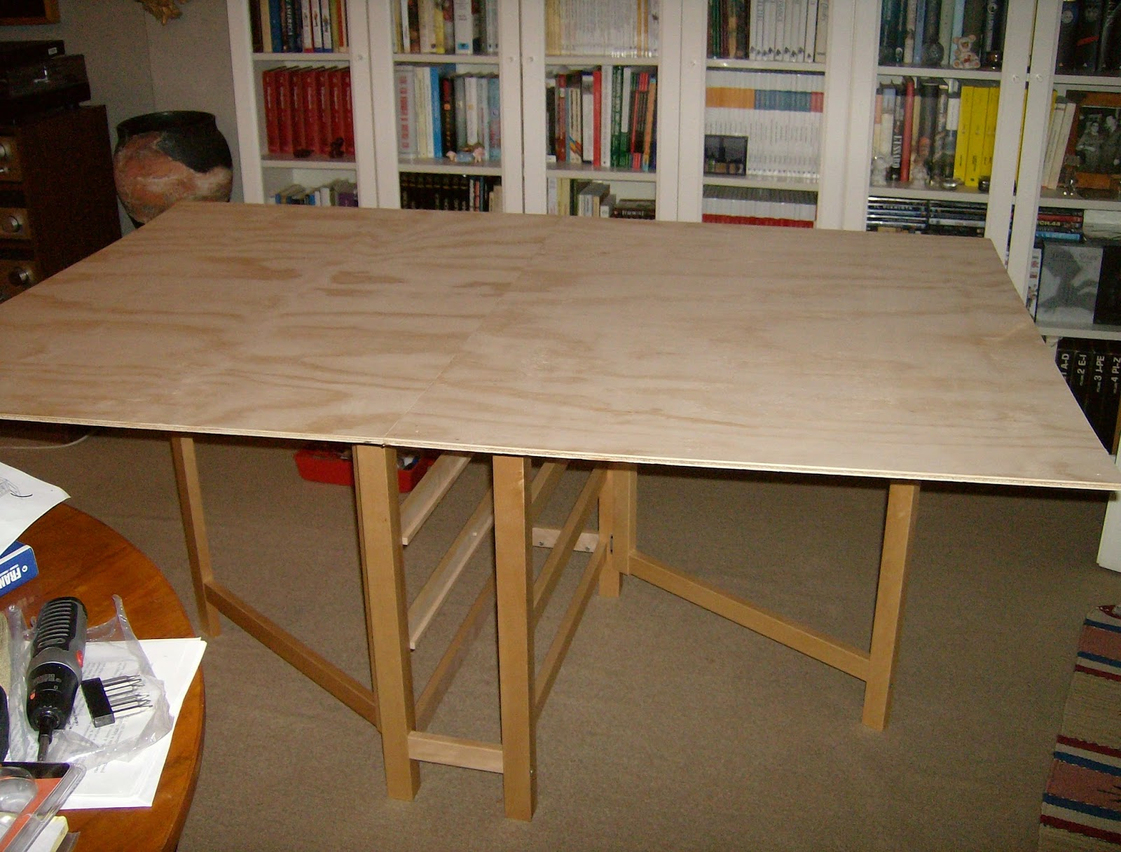 Follow up on ikea norden as a gaming table a little for Ikea gaming table