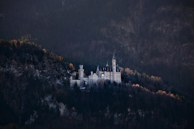 диснеевский замок ношванштайн