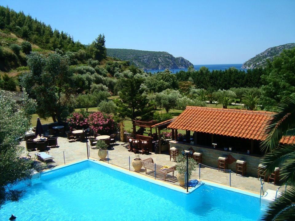 Недвижимость виллы греция