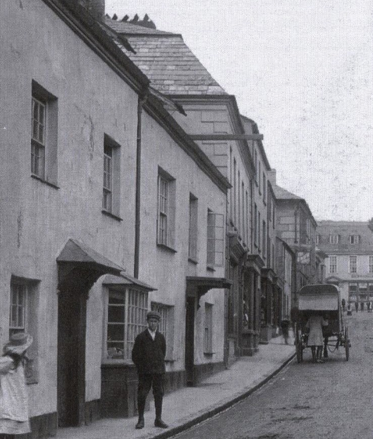 Lostwithiel, Cornwall about 1908