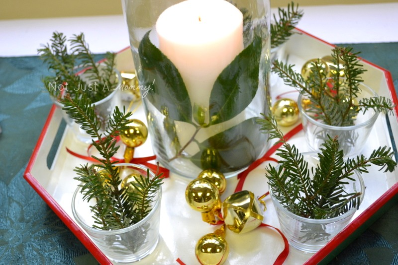 Arboretum Foundation Gifts And Green Galore candle centerpiece