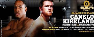 Saúl Canelo Álvarez vs James Kirkland en VIVO